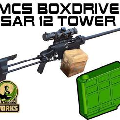 MCS-SAr12.jpg Download free STL file MCS BOX DRIVE SAR12 mag tower • 3D printing object, UntangleART