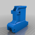 Download free 3D printer model Tippmann TIPX to MCS BOLT or Blizzard Adapter Vector edition, UntangleART