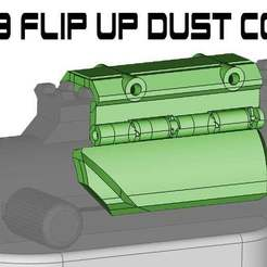 Download free STL file FGC 9 Flip Up Dust Cover • Model to 3D print, UntangleART