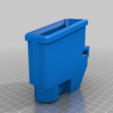 T15_magwell_PUMP_M1.png Download free STL file T15 Mag Adapter Maverick, Trracer pump paintball • 3D printer design, UntangleART