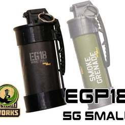EGP18_SG_SMALL_belt_2.jpg Download free STL file ENOLA GAYE SMOKE Grenade EG18 Pouch • Template to 3D print, UntangleART