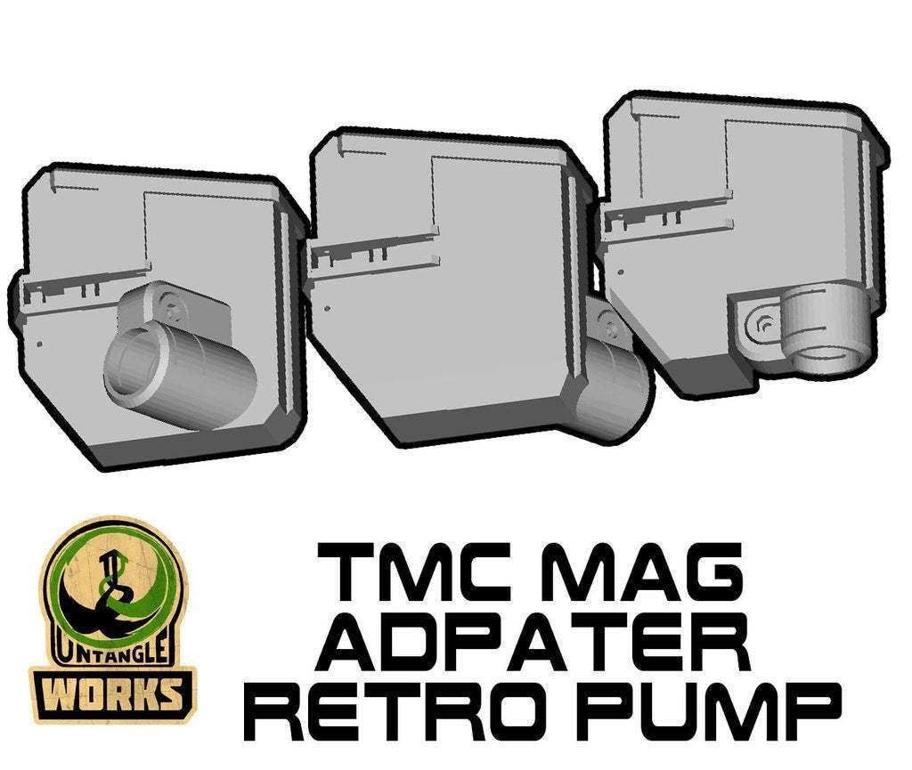 TMC-TOP-MA-RETRO.jpg Download free STL file Tippmann TMC Mag Adapter Maverick, Trracer pump paintball • Object to 3D print, UntangleART