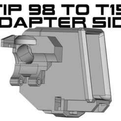 TIPWELL_side.jpg Download free STL file T15 to Tippmann 98 Magazine adapter side • 3D printing design, UntangleART