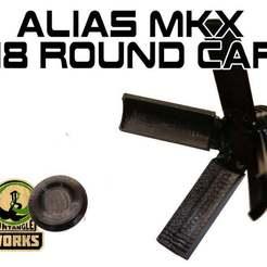 Télécharger fichier 3D gratuit Alias MKX 18 casquette ronde, UntangleART