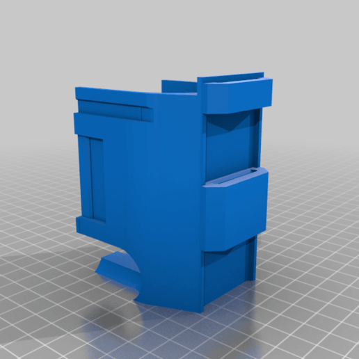 HDR50P_v4_body_v2.png Download free STL file Umarex T4E HDR 50 mag Pouch - molle • 3D print model, UntangleART