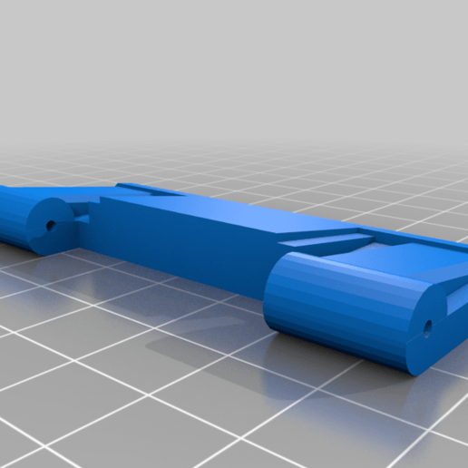 TMC_DM_COVER_Plate.png Download free STL file Tippmann TMC to MCS BOLT or Blizzard Adapter with dual mag cover • 3D print model, UntangleART