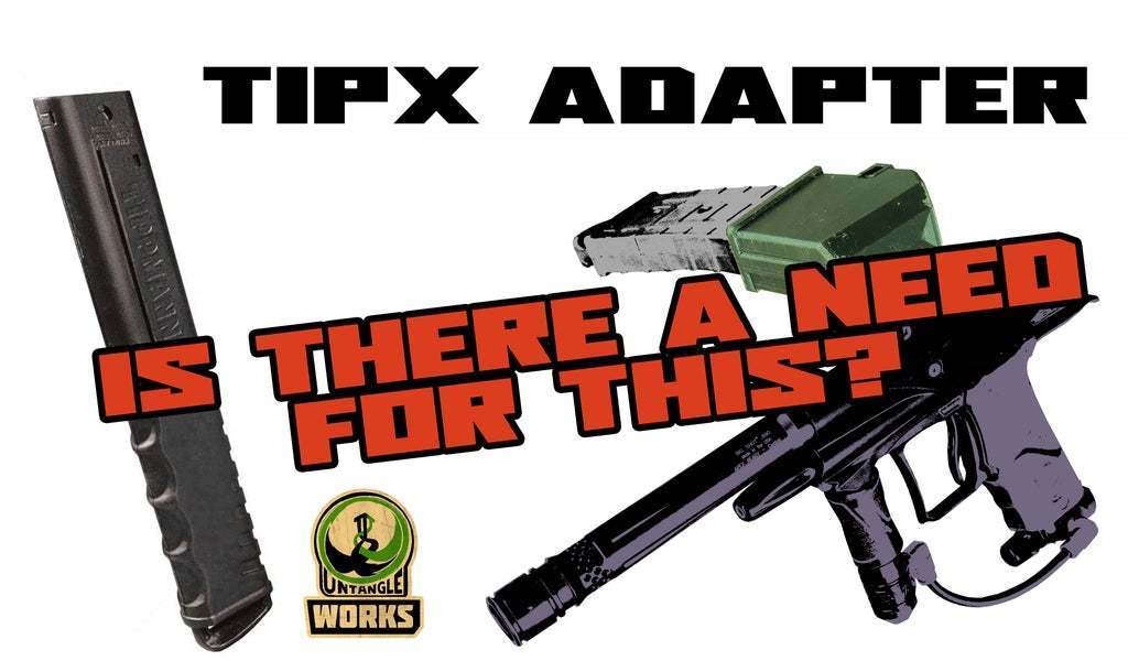 TIPX_A.jpg Download free STL file TIPX Magazine Adapter • 3D printer design, UntangleART