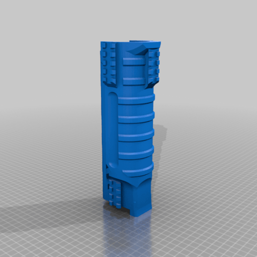 UNW_Long_shroud_NR_V2.png Download free STL file FGC 9 UNW No rail Long and medium Shroud • 3D printer model, UntangleART
