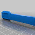 TIPX_MAGWELL_Button_v5.png Download free STL file Tippmann TiPX to tippmann 98 Mag Adapter down • 3D printable template, UntangleART