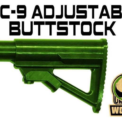 A_STOCK_MOD.jpg Download free STL file FGC-9 adjustable butt stock • 3D printer object, UntangleART