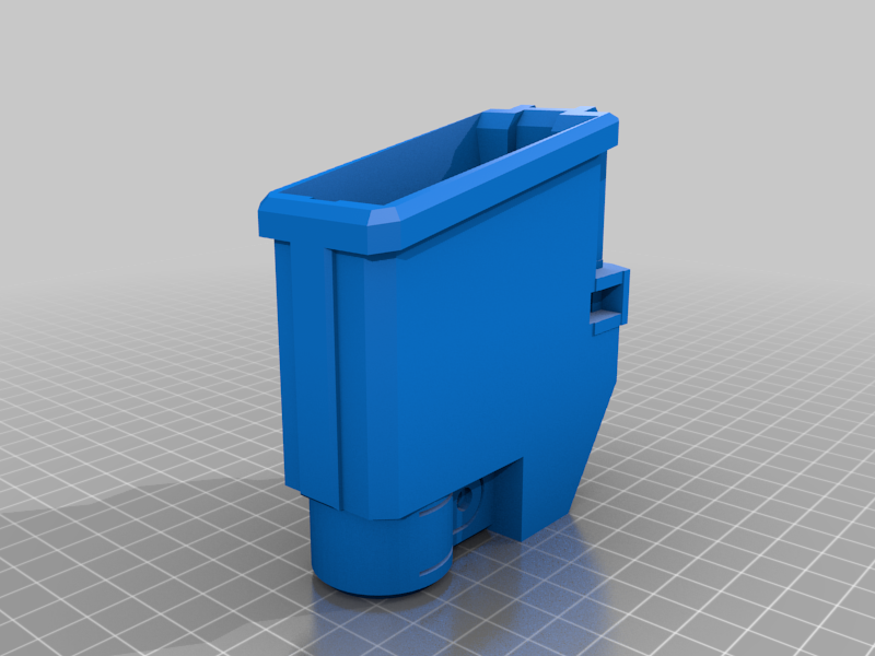 TMC_magwell_M1_L.png Download free STL file Tippmann TMC Mag Adapter Maverick, Trracer pump paintball • Object to 3D print, UntangleART