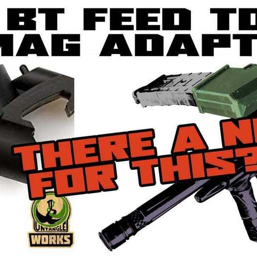 BT_A.jpg Download free STL file T15, tmc or dmag Magazine Adapter to BT mount? • Model to 3D print, UntangleART