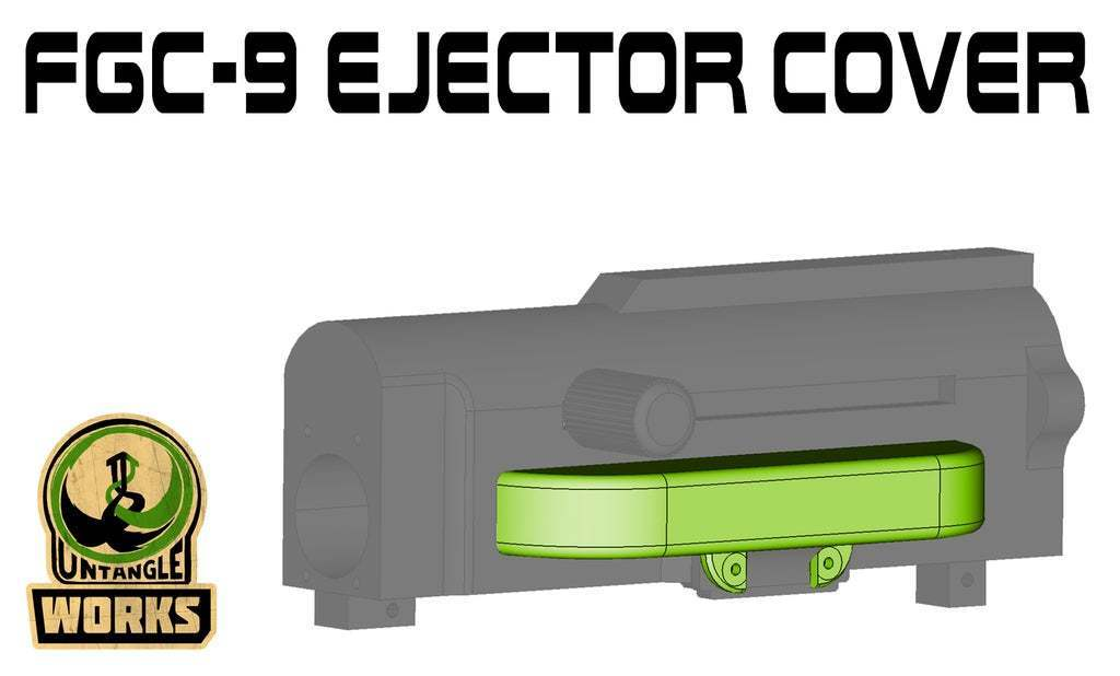 FGC9_ejector_cover.jpg Download free STL file FGC9 ejector cover • 3D print model, UntangleART
