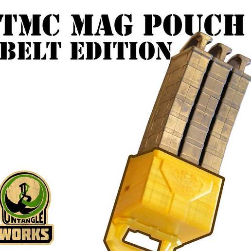 TMC-POUCH-belt.jpg Download free STL file Tippmann TMC Pouch Belt edition • 3D print design, UntangleART