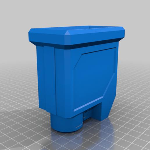DMAG_MAGWELL_PUMP_M1.png Télécharger fichier STL gratuit DMAG Helix Adapter Maverick, Trracer pump paintball • Objet imprimable en 3D, UntangleART