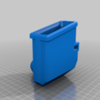 T15_magwell_PUMP_M2.png Download free STL file T15 Mag Adapter Maverick, Trracer pump paintball • 3D printer design, UntangleART