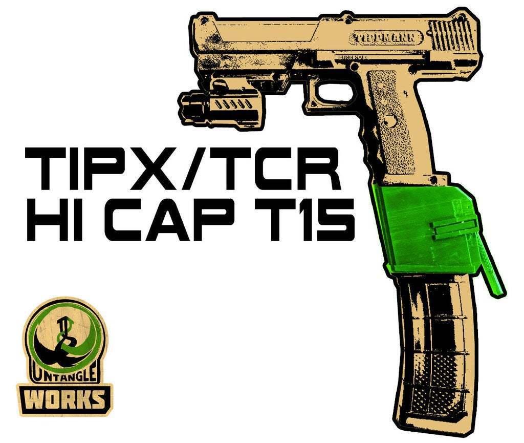 TIPX-HI-CAP-T15.jpg Download free STL file TIPX HI CAP T15 EDITION • 3D print model, UntangleART
