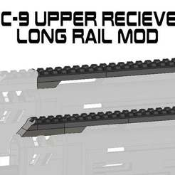 Download free 3MF file FGC9 Upper Receiver Long Rail Upgrade • Template to 3D print, UntangleART