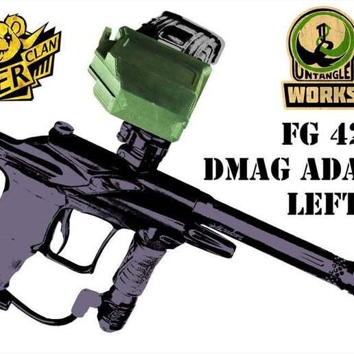 DSCF0444_b.jpg Télécharger fichier STL gratuit MCS DMAG / HELIX Adaptateur universel de magazine GAUCHE • Objet à imprimer en 3D, UntangleART
