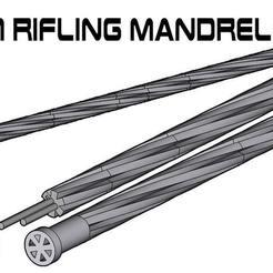 Download free STL file 30cm Rifling Mandrel-9x19 • 3D printer model, UntangleART