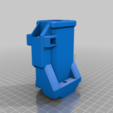 TIP_C_MA_SIDE.png Download free STL file TIPX to cyclone Magazine Adapter SIDE • 3D printer template, UntangleART