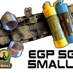 EGP_SG_SMALL.jpg Download free STL file ENOLA GAYE SMOKE Grenade Pouch • 3D printing object, UntangleART