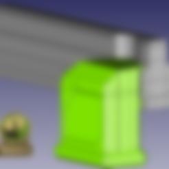 DMAG_MAGWELL_T_L_PARTX_v5.stl Télécharger fichier STL gratuit MCS DMAG Helix to cyclone Magazine Down Adapter • Plan à imprimer en 3D, UntangleART