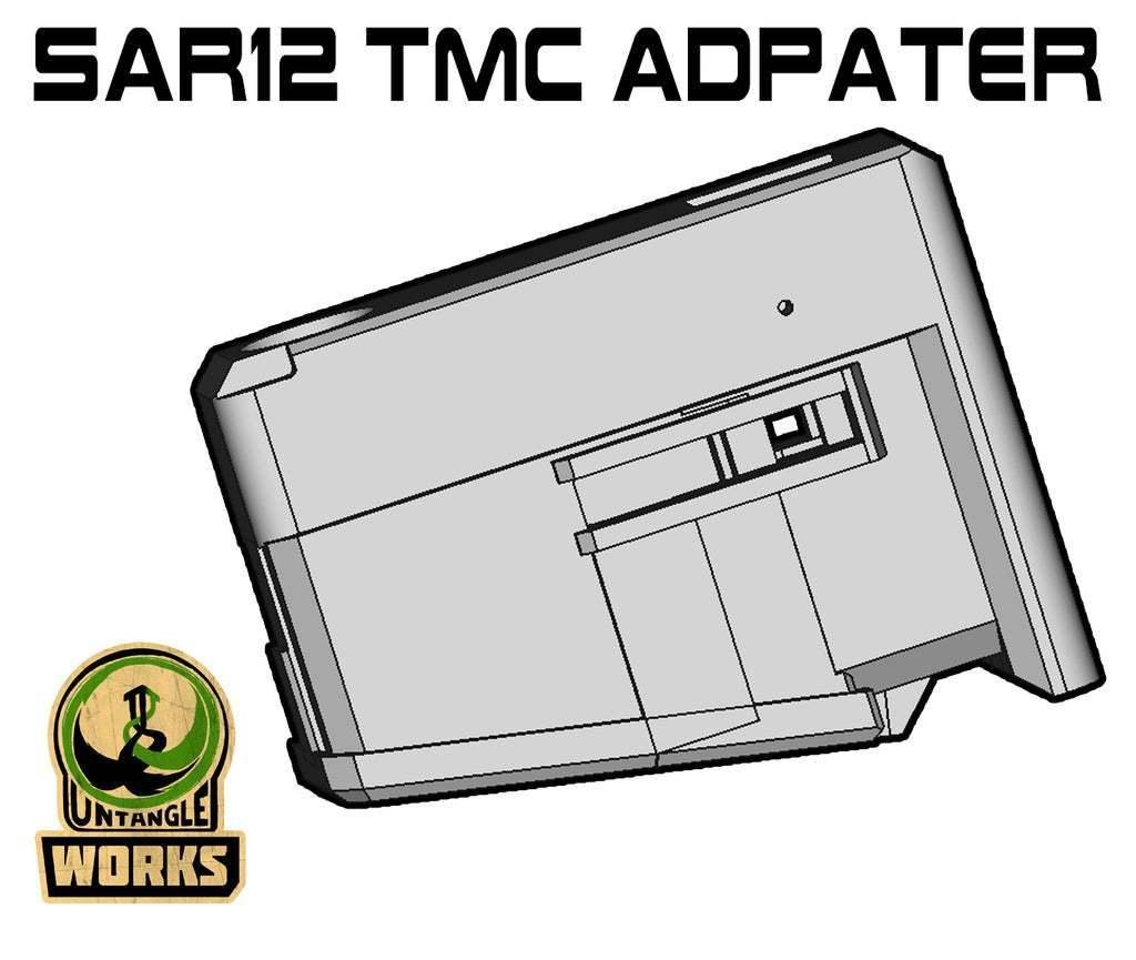 SAR12_TMC.jpg Download free STL file SAR12 TMC MAG adapter • 3D printable model, UntangleART
