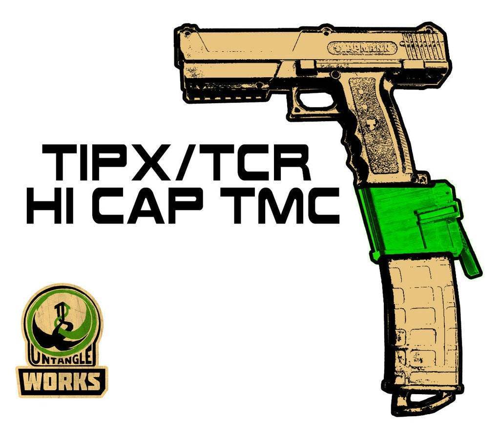 TIPX-HI-CAP-TMC.jpg Download free STL file TIPX HI CAP TMC EDITION • 3D printing model, UntangleART