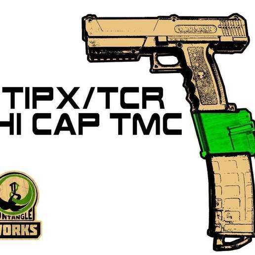 Download free STL file TIPX HI CAP TMC EDITION • 3D printing model, UntangleART