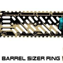 Download free STL file Tippmann TMC Barrel Sizer Ring • 3D print model, UntangleART