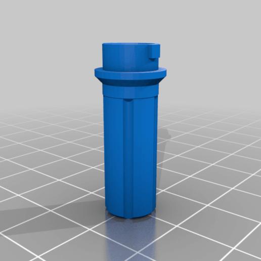 TS_TOOL_CAP_Part_v2.png Télécharger fichier STL gratuit Outil d'étanchéité des pneus Presta Valve • Plan à imprimer en 3D, UntangleART