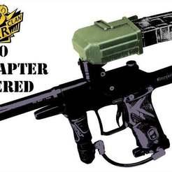 Télécharger fichier imprimante 3D gratuit Tippmann TMC Universal Magazine Adapter centré, UntangleART