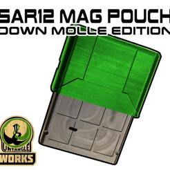 SAR12-POUCH-MOLLE-DOWN.jpg Download free STL file SAR12 MAG Pouch Molle DOWN edition • 3D printable object, UntangleART