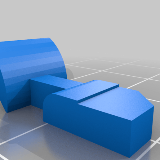 TIPX_MAGWELL_Mag_chatch_v5_part1_v5.png Download free STL file Tippmann TiPX to tippmann 98 Mag Adapter down • 3D printable template, UntangleART