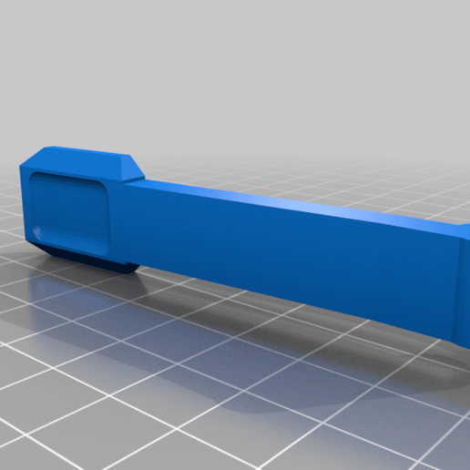 TIPX_MAGWELL_Button_v5.png Download free STL file TIPX to cyclone Magazine Adapter SIDE • 3D printer template, UntangleART
