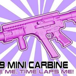 Download free STL file FGC9 Mini carbine Edition 1/6 scale • 3D printing template, UntangleART