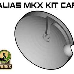 Télécharger fichier imprimante 3D gratuit Alias MKX caps, UntangleART