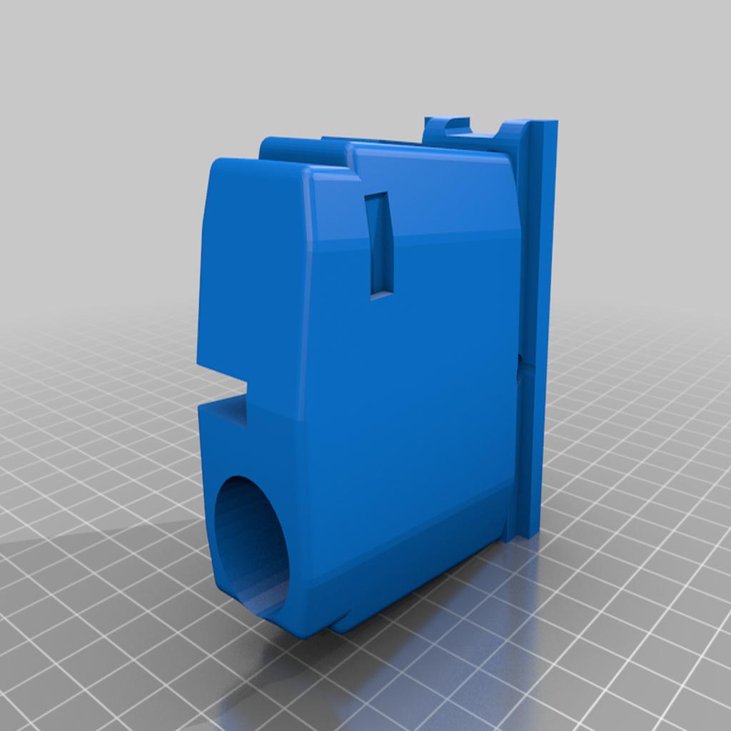 MCS_BOXMAG_DMAG_thower_v3.png Télécharger fichier STL gratuit MCS Box Drive DMAG/HELIX Magazine Tower • Design pour imprimante 3D, UntangleART