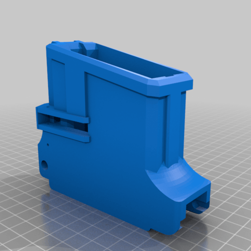 TMC_TO_MCS_BOLT_magwell_v4.png Download free STL file Tippmann TMC to MCS BOLT or Blizzard Adapter • Template to 3D print, UntangleART