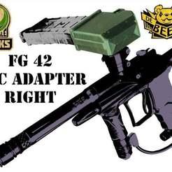 TMC_A_Right_d.jpg Download free STL file Tippmann TMC Universal Magazine Adapter Right • 3D printing design, UntangleART