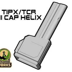Download free STL file TIPX HI CAP DMAG/HELIX EDITION • 3D print model, UntangleART