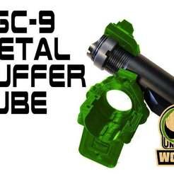 AR_STOCK_MOD.jpg Download free STL file FGC-9 UNW Metal Buffer tube • 3D printer model, UntangleART
