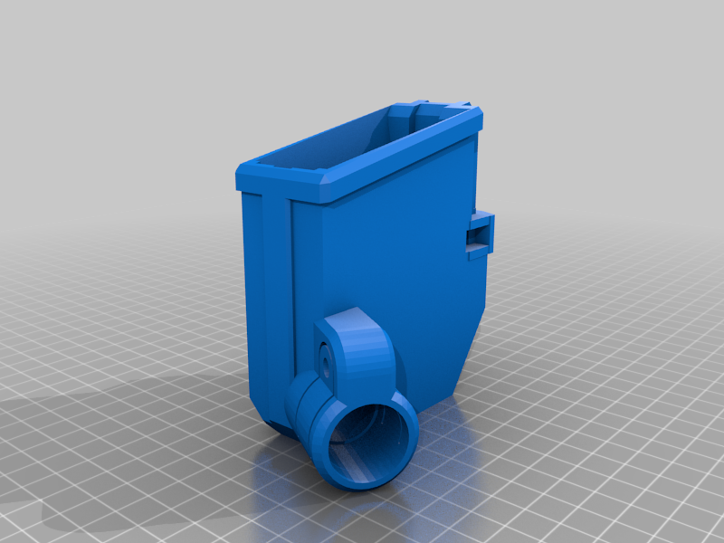 TMC_magwell_M2_L.png Download free STL file Tippmann TMC Mag Adapter Maverick, Trracer pump paintball • Object to 3D print, UntangleART