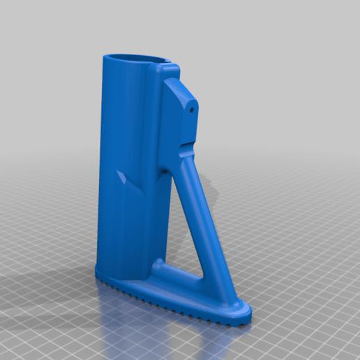 FGC9_UNW_Adjastable_BUTTSTOCK_v3.png Download free STL file FGC-9 adjustable butt stock • 3D printer object, UntangleART
