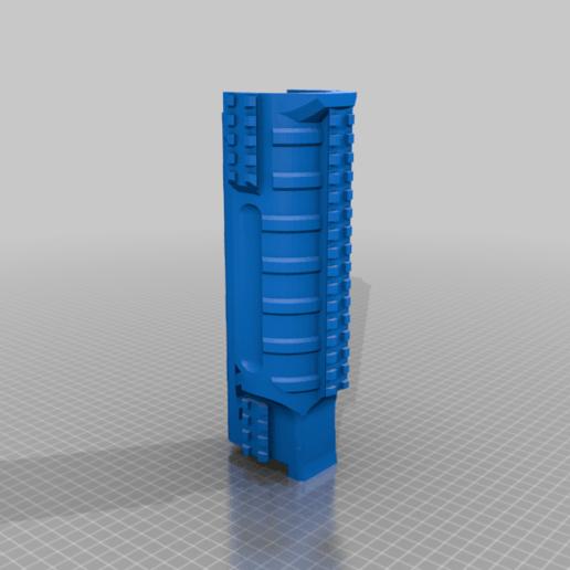 UNW_Long_shroud_NR_RAIL_v2.png Download free STL file FGC 9 UNW No rail Long and medium Shroud • 3D printer model, UntangleART