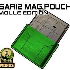 SAR12-POUCH-MOLLE.jpg Download free STL file SAR12 MAG Pouch Molle edition • Template to 3D print, UntangleART