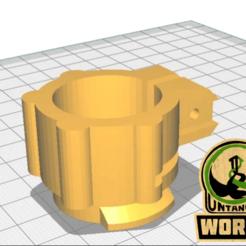 Télécharger fichier impression 3D gratuit Chargeur de matières dangereuses à grande vitesse partie du goulot d'étranglement, UntangleART