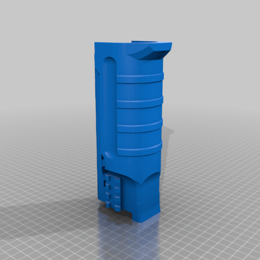 UNW_MS_NR_v2.png Download free STL file FGC 9 UNW No rail Long and medium Shroud • 3D printer model, UntangleART