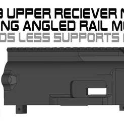Download free 3MF file FGC9 Upper Receiver Long Rail  angled NLS MOD • 3D printable object, UntangleART